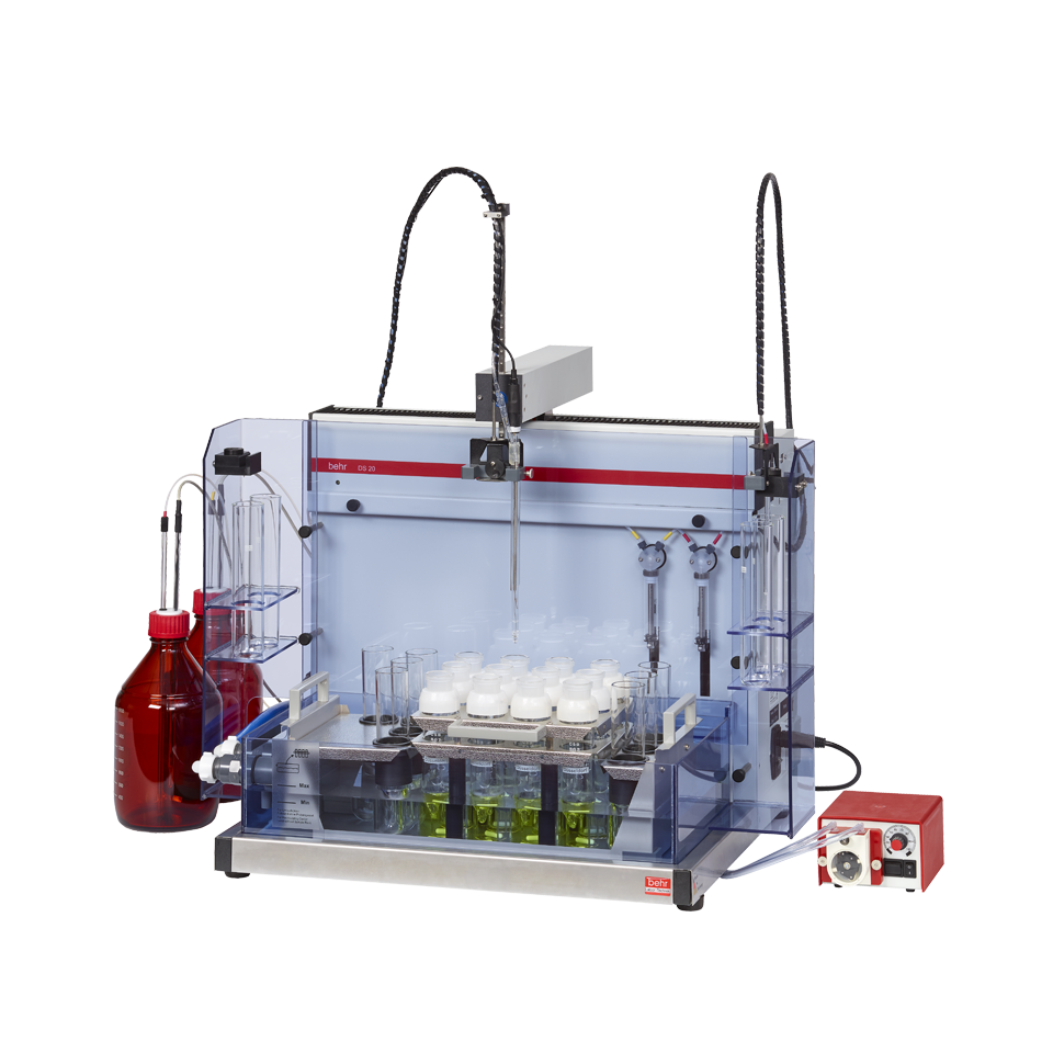 Chemical determination - Automatic metering/titration unit (Fully automated metering/titration for COD)