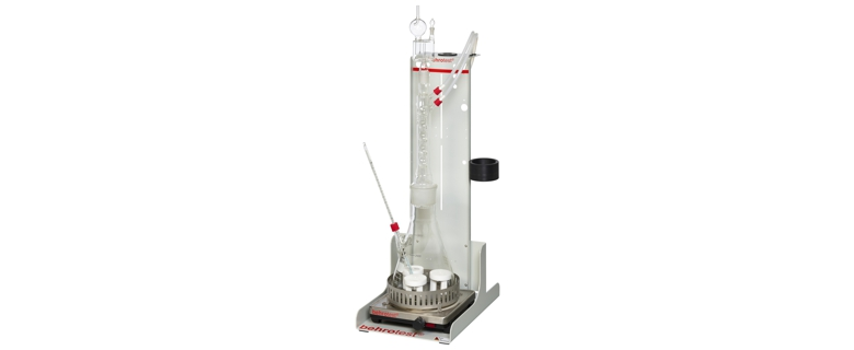 Custom products - Laboratory purification plant with dentrification stage (Laboratory clarification system with double-walled vessels)